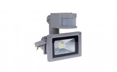 Proiector de LED de 10W, si cu senzor