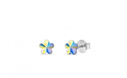 Cercei Flower Mini Aurore Boreale