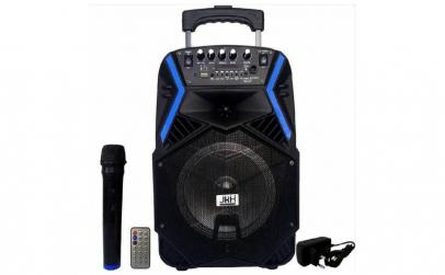 Boxa portabila 300w cu microfon