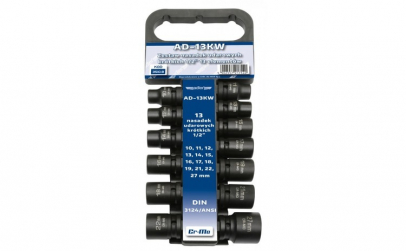 "Set de chei tubulare IMPACT 1/2"", 13"