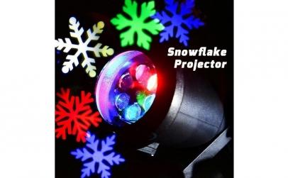 Proiector metalic lumini laser cu fulgi