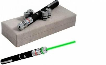 Laser pointer verde 5 capete 3D 500mW