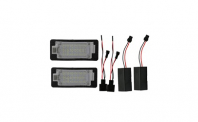 Set Lampi LED numar  VW GOLF Plus