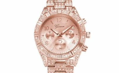 Ceas Dama Geneva Luxury Rose Gold
