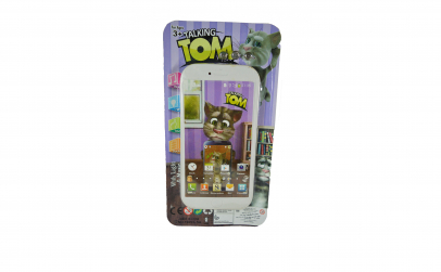 Telefon mobil Talking Tom muzical - alb