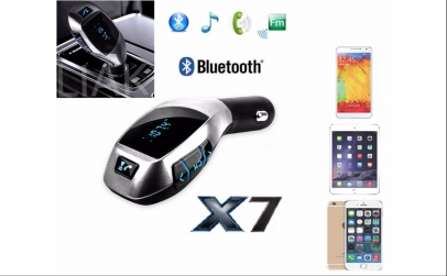 Car Kit X7 - Mp3 cu Bluetooth