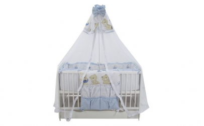 Lenjerie MyKids Teddy Play Blue M2 7
