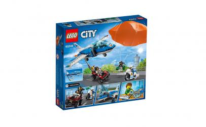LEGO City Police - Arest cu parasutisti