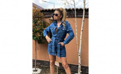 Rochie sarafan - Patas Blue Bogas
