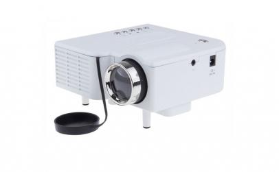 Mini Proiector LED, BigShot UC28 +, Alb