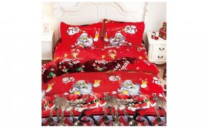 Lenjerie Cocolino de Craciun pentru pat