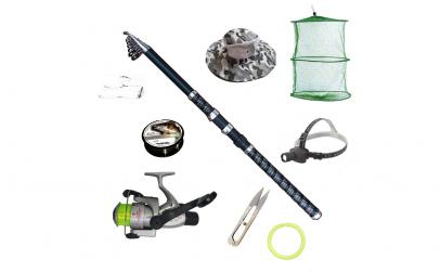 Set pescuit sportiv cu lanseta