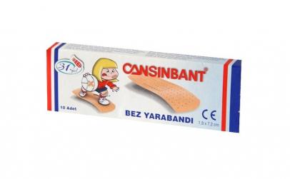 Plasturi Cansinbant, 10 buc.
