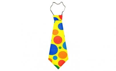 Cravata de clovn cu buline, 41 cm