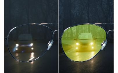 Ochelari de condus pe timp de noapte