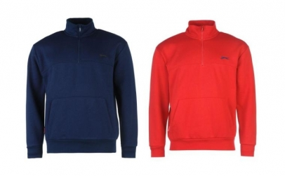 Pulover barbati Slazenger Quarter Zip
