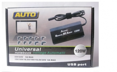 Incarcator universal 120W - 10 conectori