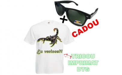 Tricou Scorpion + cadou ochelari