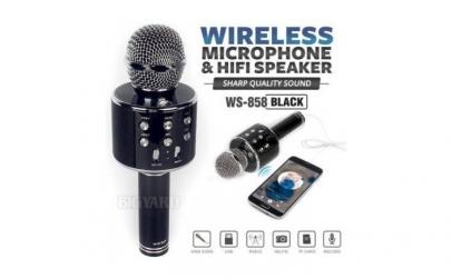 Microfon wireless portabil cu boxa