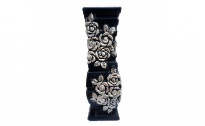Vaza din ceramica  cu trandafiri