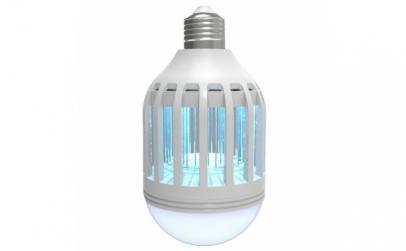 Bec Led cu lampa UV anti-insecte 2 in 1