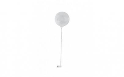 Balon LED multicolor, 35 cm, transparent