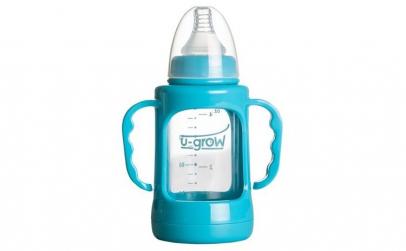 Biberon cu protectie U-Grow 120 ml