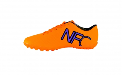 Ghete de fotbal portocalii