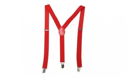 Bretele Suspenders rosu,VIVO