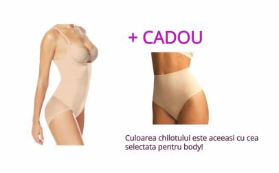 Body modelator, Push-Up + Chilot tanga