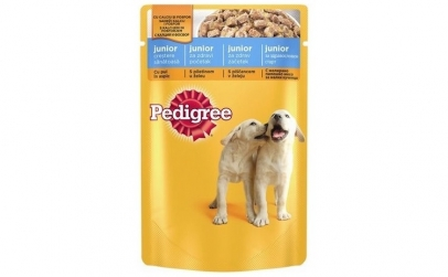 Pedigree Junior, Pui, 100g