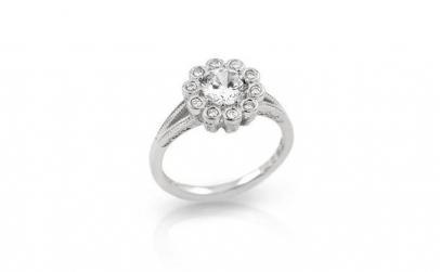 Inel argint 925 elegant cu zirconii