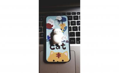 Husa Animal 4D Cat Samsung
