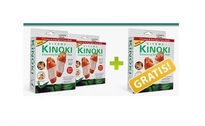 Set 10 plasturi detoxifiere - Kinoki