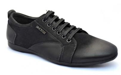 Pantofi Sport Barbatesti negri Shoe NS