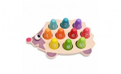 Joc Montessori 2 in 1 Ariciul