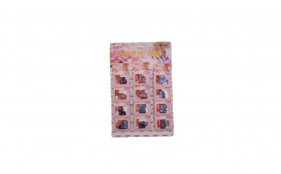 Set 12 unghii false colorate