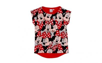 Tricou Disney, rosu, fete, 8 ani, 128