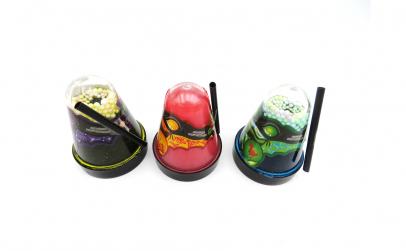 Set 3 gelatina Ninja cu pai