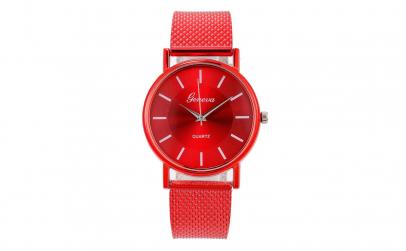 Ceas de dama rosu