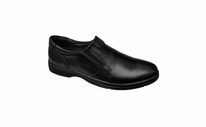 Pantofi lati din piele naturala