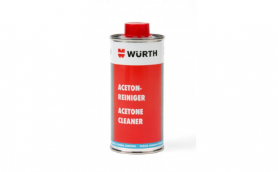 Solutie curatare acetona Wurth  250 ml