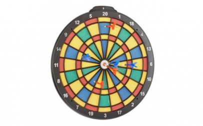 Set profesional Darts tabla si 6 sageti