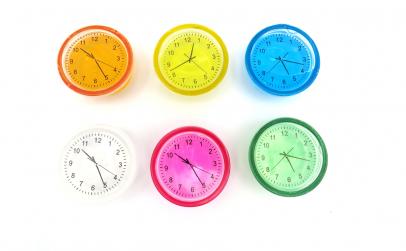 Set 6 Gelatina ceas multicolora