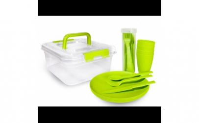 Set pentru picnic 20 piese green GL-427