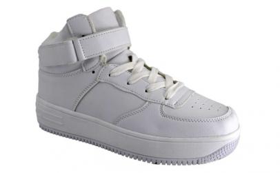 Pantofi Sport tip Ghete Barbatesti Albi