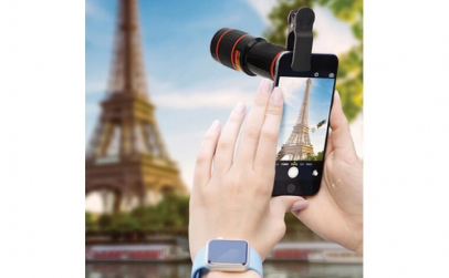 Obiectiv Zoom 10X atasabil telefon