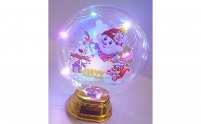 Glob cu lumini Craciun