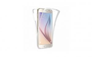 Husa 360 Grade Silicon Samsung Galaxy S5,Transparent