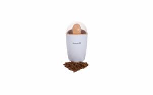 Rasnita de cafea, capacitate 50g, functie puls, putere 250W, Alb